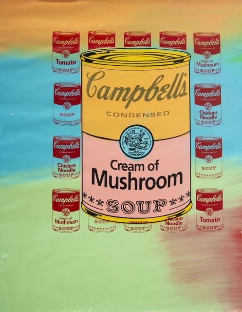 """Steve Kaufman, '(SAK) (1960-2010) -- Description : """"Campbell's Soup""""', 1996, Modern Artifact"""