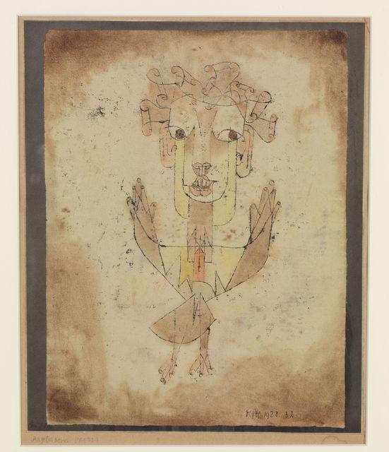 , 'Angelus Novus,' 1920, Centre Pompidou