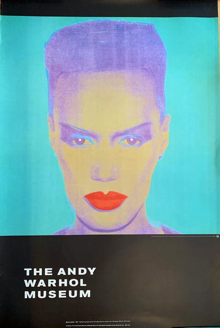 Andy Warhol, 'Grace Jones, The Andy Warhol Museum', 1986, David Lawrence Gallery
