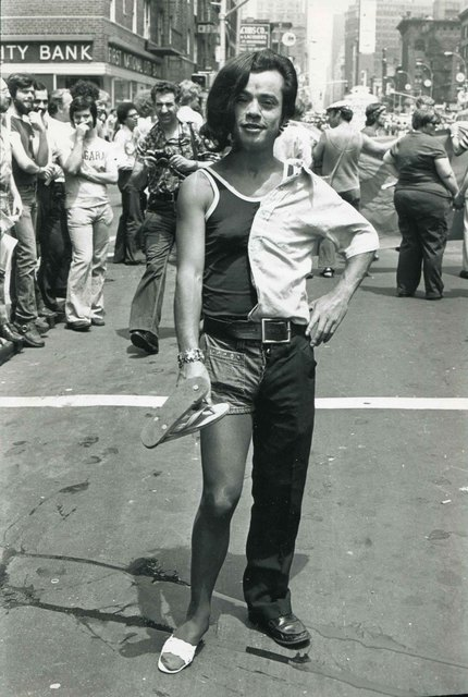 , 'Uniform of the Day, Mixed Message, Gay Pride March,' June 29-1975, Steven Kasher Gallery