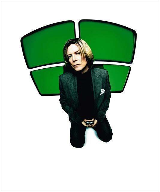 , 'Bowie, Green Screens, NYC,' 2002, TASCHEN