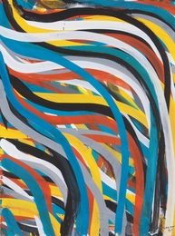 Untitled (Wavy brushstrokes)