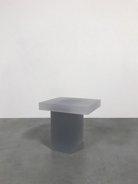 , 'Haze Stool (White and Light Grey),' 2015, Carpenters Workshop Gallery