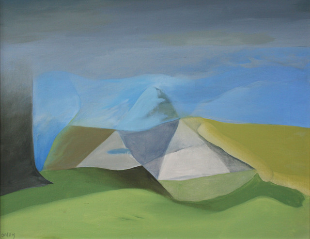 , 'Pyramid Valley,' 1965, Wallace Galleries