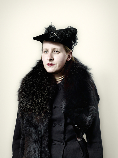 , 'Civilian with Black Fox Fur,' 2008, KLOMPCHING GALLERY