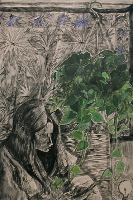 , 'Hanging Plant,' 2017, Upfor
