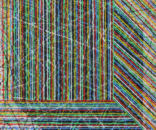 , 'Line Field 2,' 1993, Mind Set Art Center