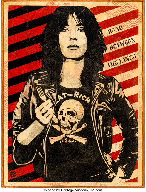 Shepard Fairey (OBEY), 'Patti Smith', 2012, Heritage Auctions