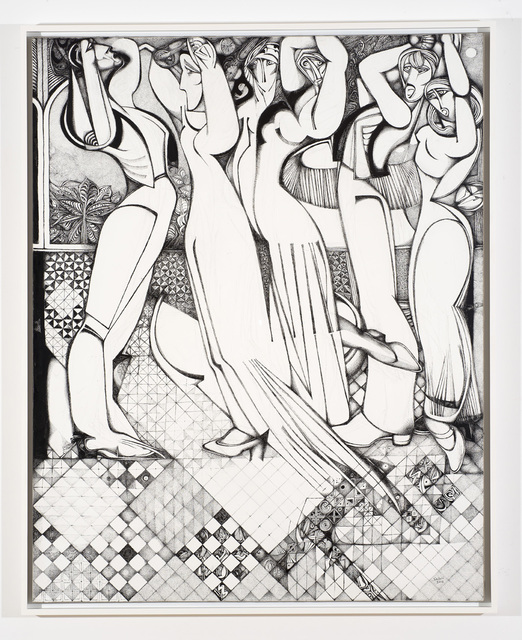 , ' Flamenco Dancers,' 2012, Vigo Gallery