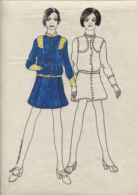 Delia Cancela, 'Dos chicas pelo negro', 1967, Herlitzka + Faria