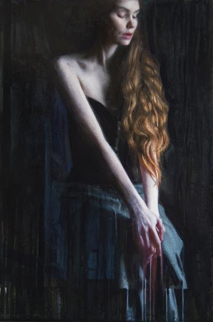 Viktoria Savenkova, 'Anticipation', 2021, Painting, Oil on wood, 33 Contemporary
