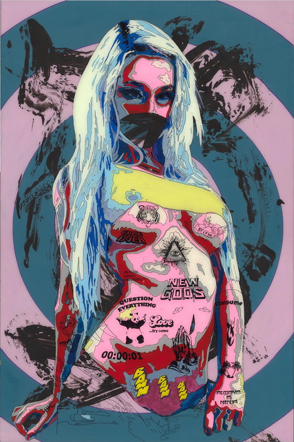 , 'Timekeeper84 - Question everything,' 2017, Art Supermarket