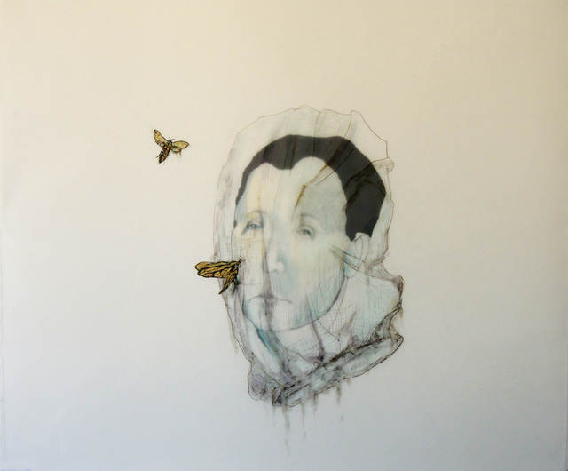 , 'Maskhara with Moth,' 2014, Studio SALES di Norberto Ruggeri