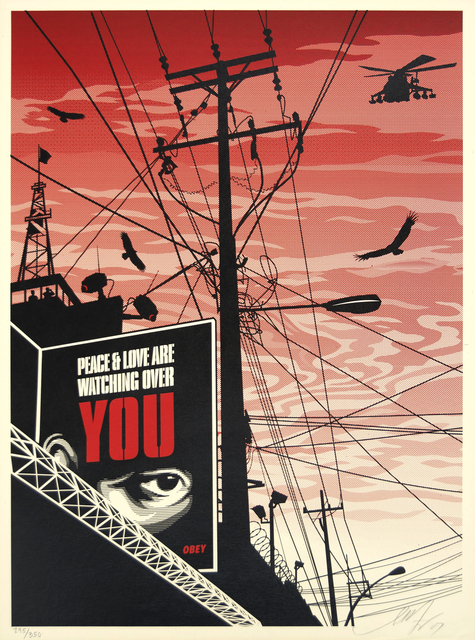 Shepard Fairey, 'Big Brother City', 2007, Heather James Gallery Auction