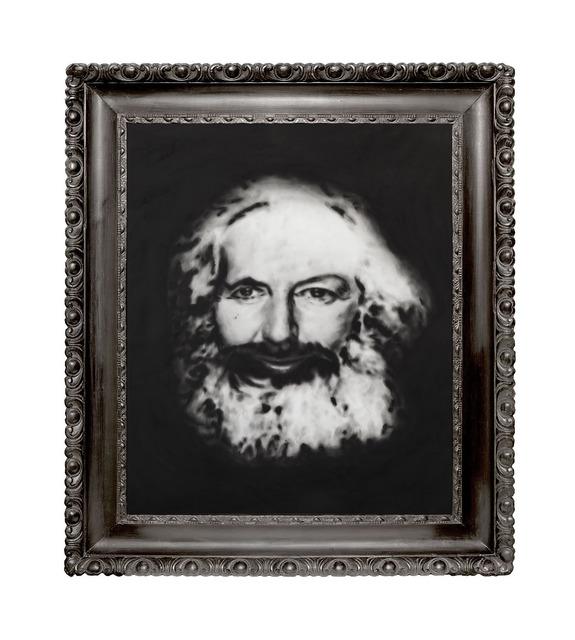 Thomas Feuerstein, 'MARXSCHE ENTFREMDUNG (Karl Marx im Angesicht von Margaret Thatcher)', 2018, Galerie Elisabeth & Klaus Thoman