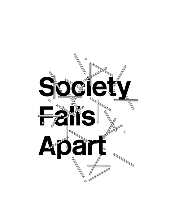 , 'Est.1690 #3 'Society Falls Apart' ,' 2015, Division of Labour