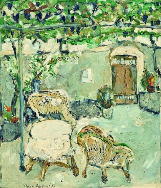 , 'A Garden,' 1986, Museum of Modern Art Dubrovnik