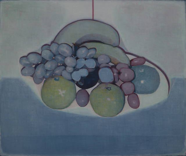, 'Some fruits on white and blue,' 2014, Magician Space