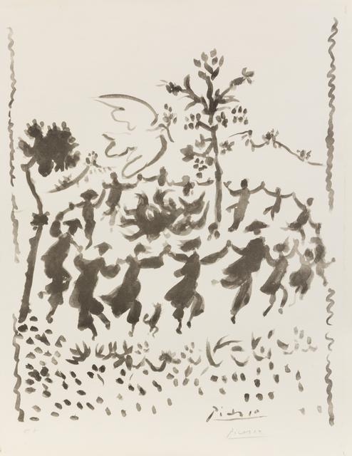 Pablo Picasso, 'Vive la Paix', 1954, Hindman
