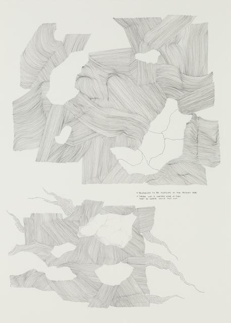 , 'Territory Sans Memoir,' 2014, Goodman Gallery
