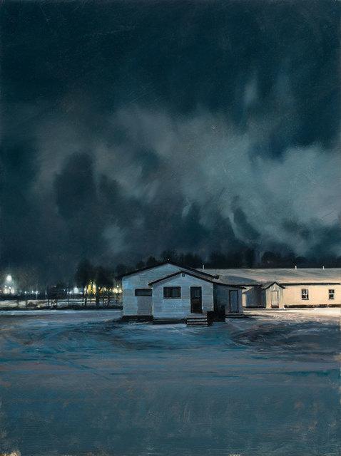 , 'Neve/Notte N.2,' 2019, Galleria Punto Sull'Arte