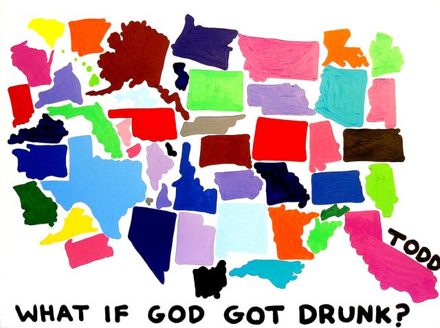 , 'God Got Drunk,' , The Ross Art Group Inc.