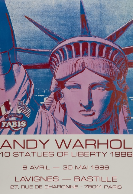 Andy Warhol, '10 Statues of Liberty', 1986, Forum Auctions