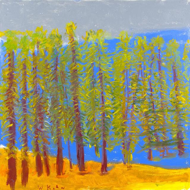 Wolf Kahn, 'UNHARVESTED XMAS TREES', 2019, Jerald Melberg Gallery