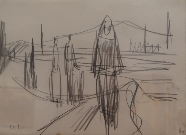 , 'Unterwegs nach Luzia (On the way to Luzia),' 1961, Galerie Bei Der Albertina Zetter