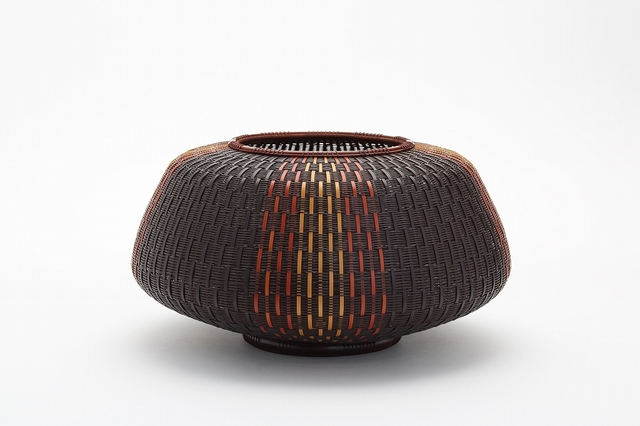 , 'Three Color Hietsu-Plaited Flower Basket,' 2014, TAI Modern