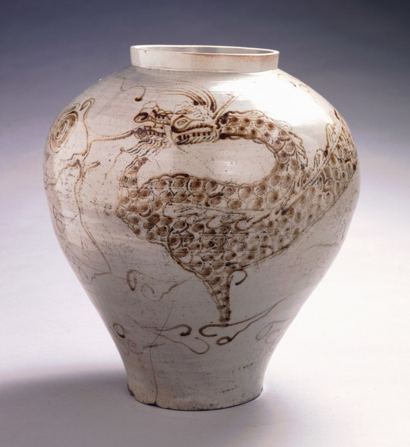 , 'Dragon Jar,' c. 18th century, Newark Museum