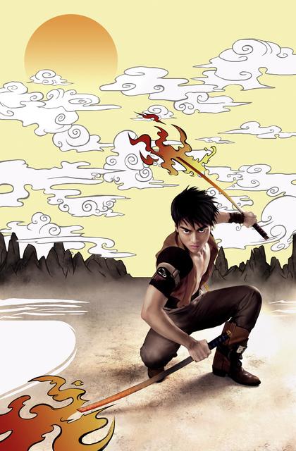 , 'Manga Dreams, Kit The Swordsman,' 2009, CAMERA WORK