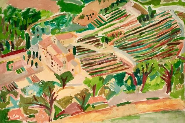 Elizabeth Cope, 'Senanque, Provence ', 1992, Maison Depoivre