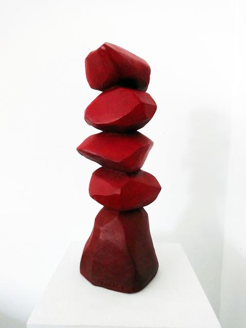 , 'Red Column,' 2014, Galerie Simon Blais