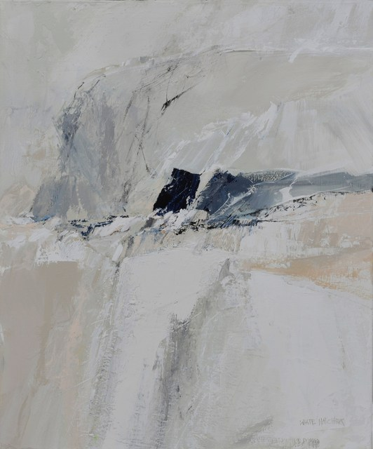 Bernie White Hatcher, 'Winter Snowfall', 2018, Painting, Acrylic on canvas, Springfield Art Association