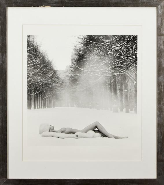 Patrick Lichfield, 'Girl on Snow, USSR', 1989, Print, Digital bromide print, Roseberys