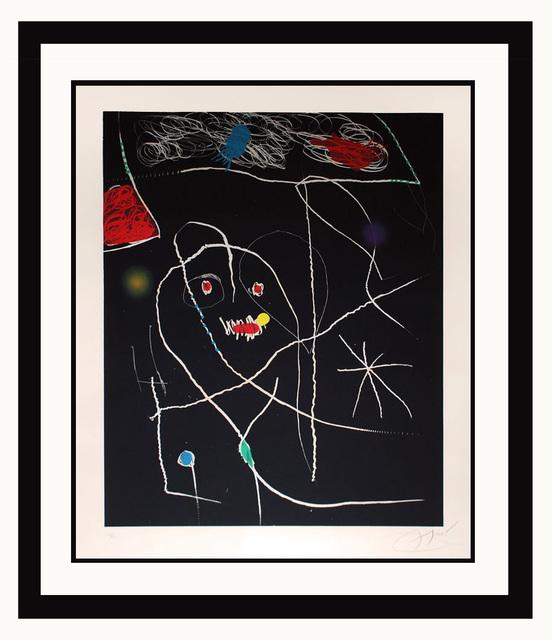 Joan Miró, 'El Pi de Formentor (Black)', 1976, Elliott Gallery