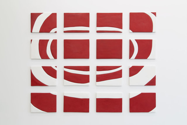 , 'Red and White Painting,' 2013, The FLAG Art Foundation