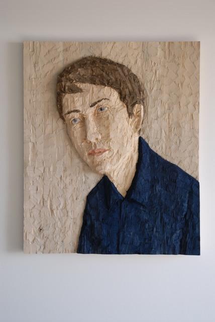 , 'Grosses Kopfrelief (Mann) (Large head relief (male)),' 2012, Deweer Gallery