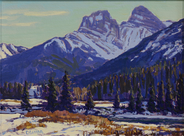 William Duma, 'Near Canmore (7-19)', 2019, Wallace Galleries