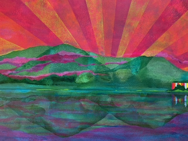 James Isherwood, 'Supernova', 2021, Painting, Acrylic on paper, Susan Eley Fine Art