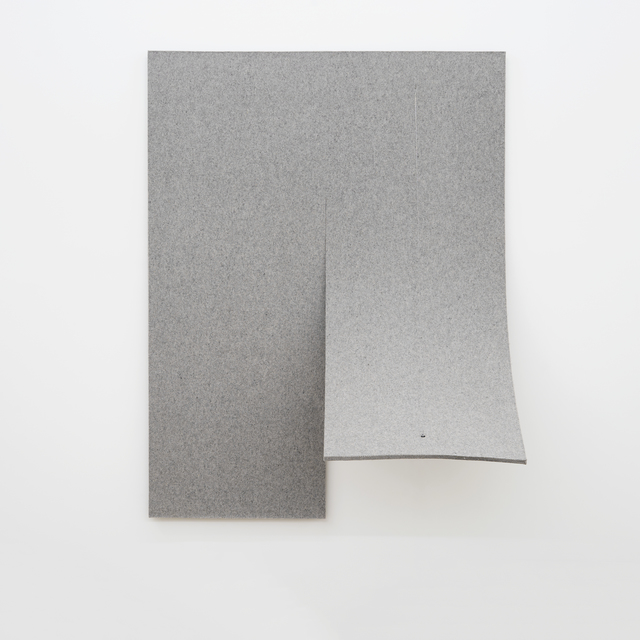 , 'Work On Felt (Variation 4) Gray,' 2016, Spinello Projects