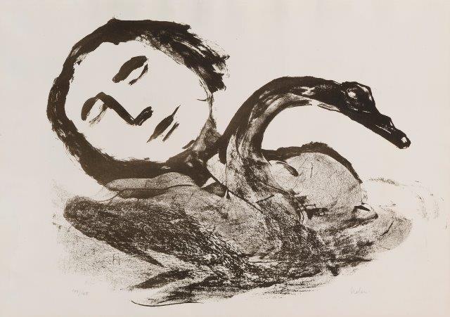 Sidney Nolan, 'Leda and the Swan', 1961, Roseberys