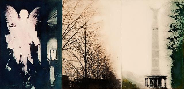 Susan Baran, 'Wings of Desire, Berlin', 2013, Print, Photopolymer intaglio a la poupée, Sydney Printmakers