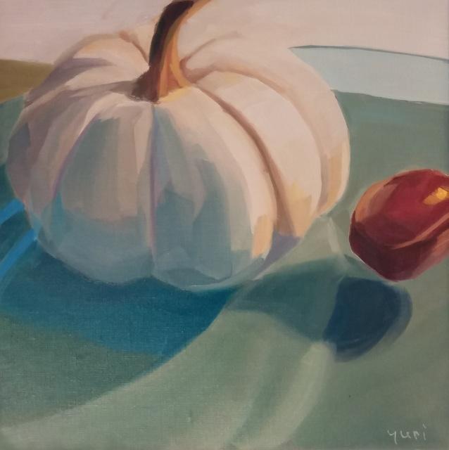 Yuri Tayshete, 'White Pumpkin and a Chestnut', 2019, 440 Gallery