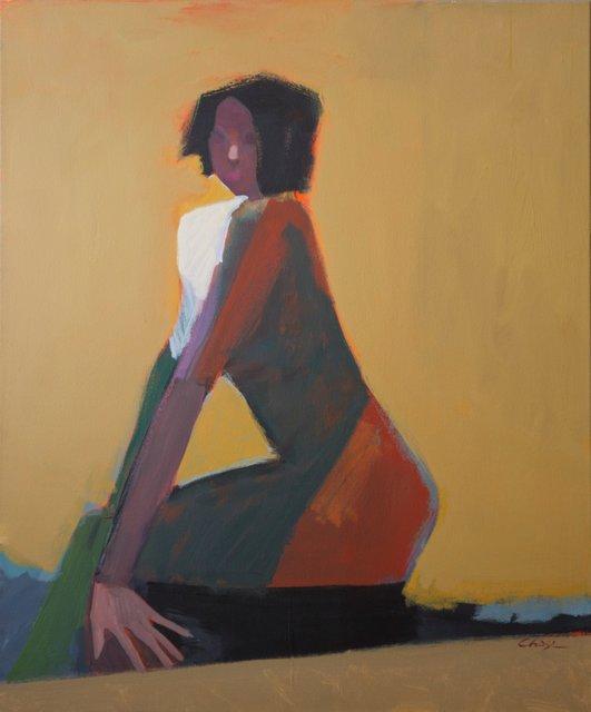 Jamie Chase, 'Kneeling Woman', Larsen Gallery