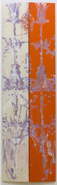 , 'Split Screen Red,' 2014, Peter Blum Gallery