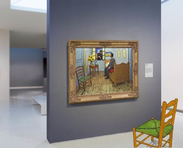 , 'Van Gogh's Bedroom,' 2015, Catherine Edelman Gallery