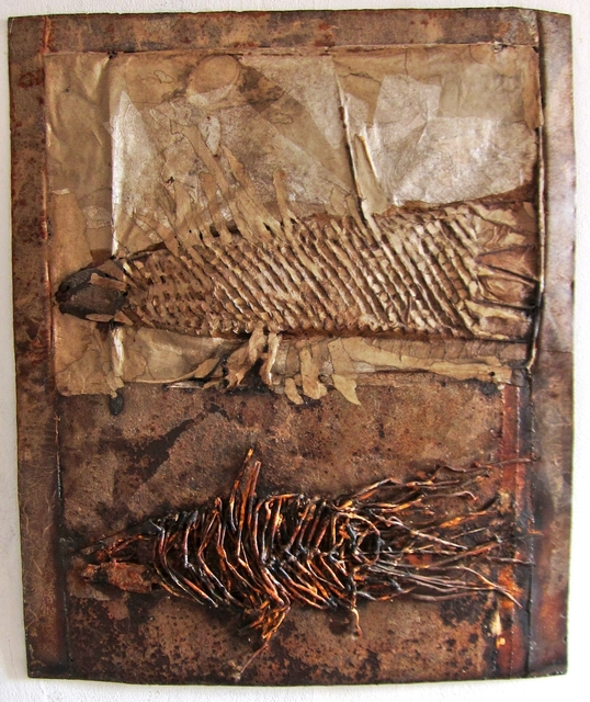 Brunivo Buttarelli, 'Celacanto ieri e oggi / Coelacanth yesterday and today', 2011, Galleria il Lepre