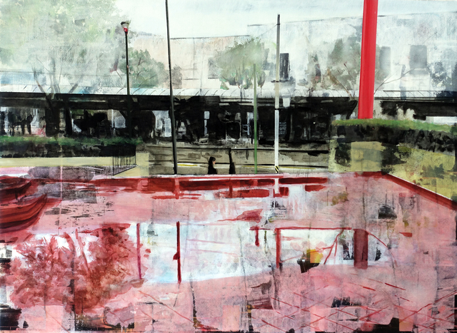 , 'Porche,' 2019, Galería Casa Lamm